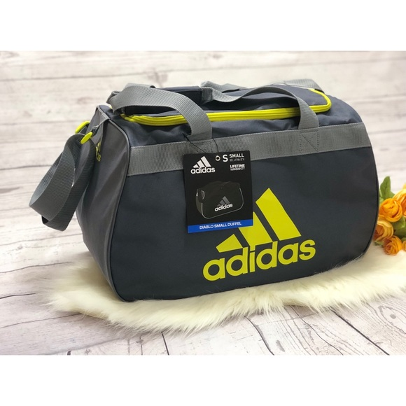 854f8e58e33 adidas Bags   Diablo Small Duffel Gym Bag Luggage   Poshmark